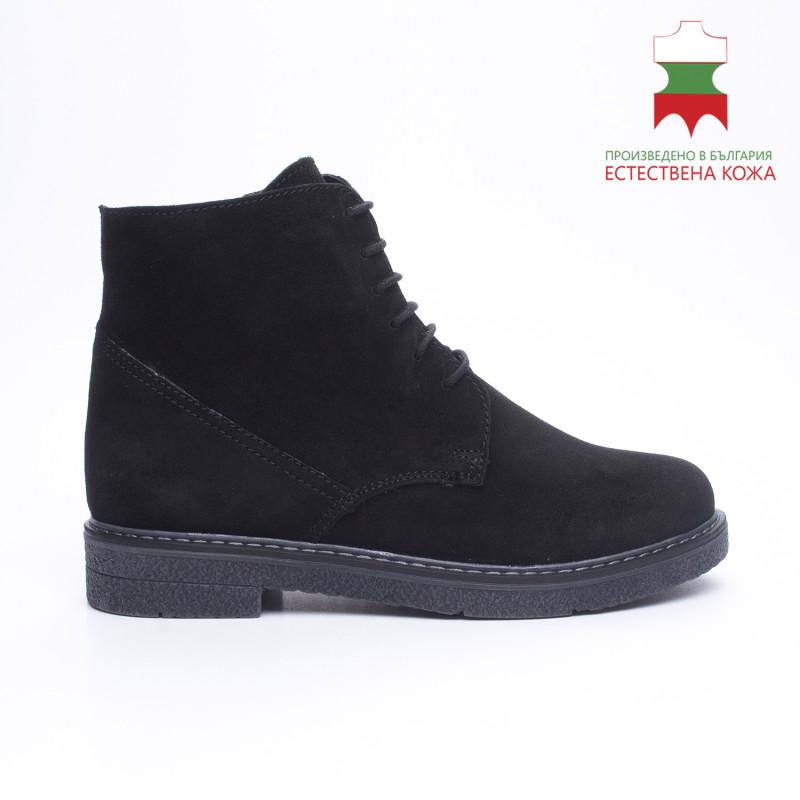 ДАМСКИ БОТИ 227021 BLACK