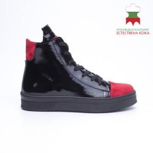 ДАМСКИ МАРАТОНКИ 228002 BLACK/RED