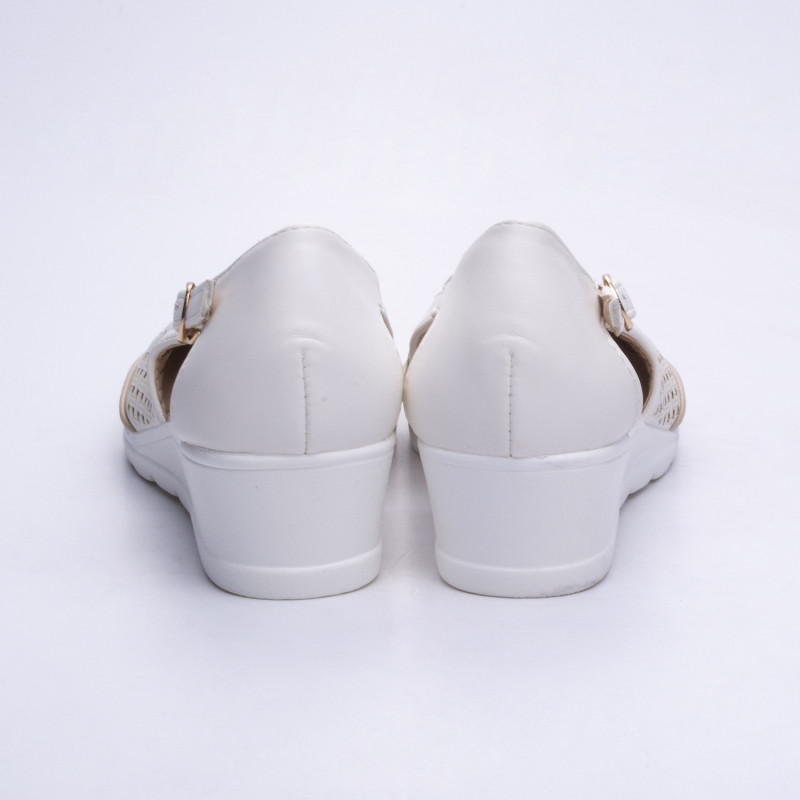 ДАМСКИ ОБУВКИ 525089 WHITE/BEIGE
