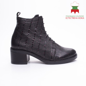 ДАМСКИ БОТИ 227051 BLACK