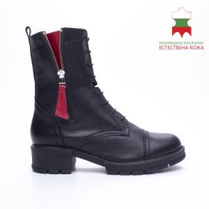 ДАМСКИ БОТИ 227058 BLACK