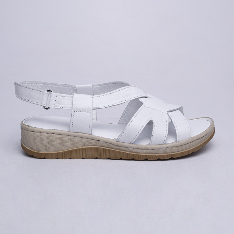 ДАМСКИ САНДАЛИ 658013 WHITE